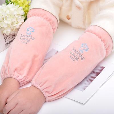【买二送一】韩版可爱成人长短款袖套女冬