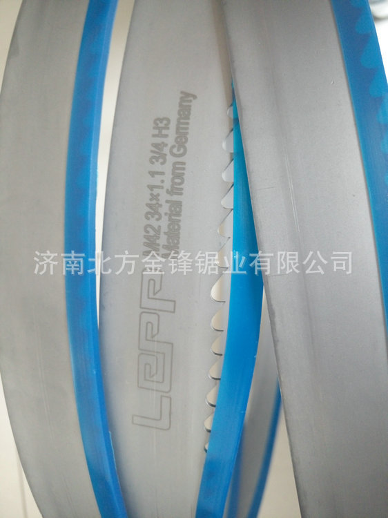 LEPP imported material machine with double metal band saw blade 4115M42 high-speed hacksaw blade front teeth