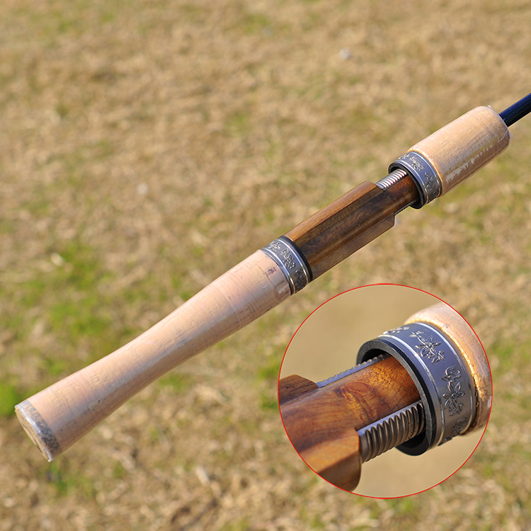 Berlusconi Creek Road and pole UL/L grips / straight shank carbon light shot ious trout fishing rod