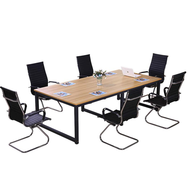 Conference Table Desk Simple Modern Training Staff Boss Office - Detachable conference table