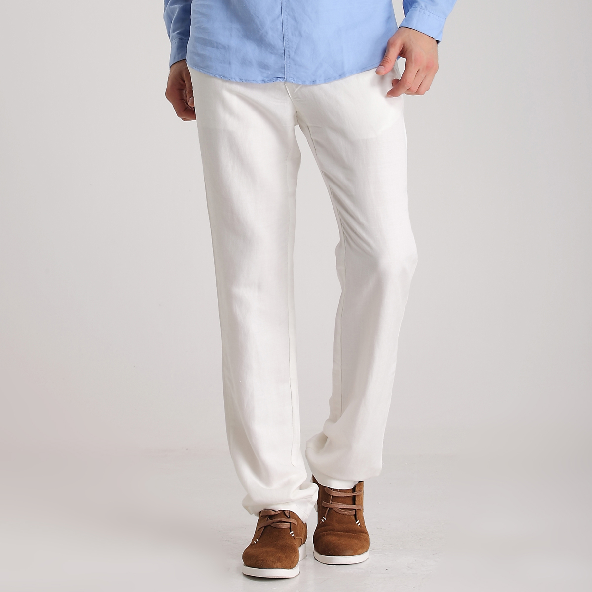 cotton linen pants men - Pi Pants