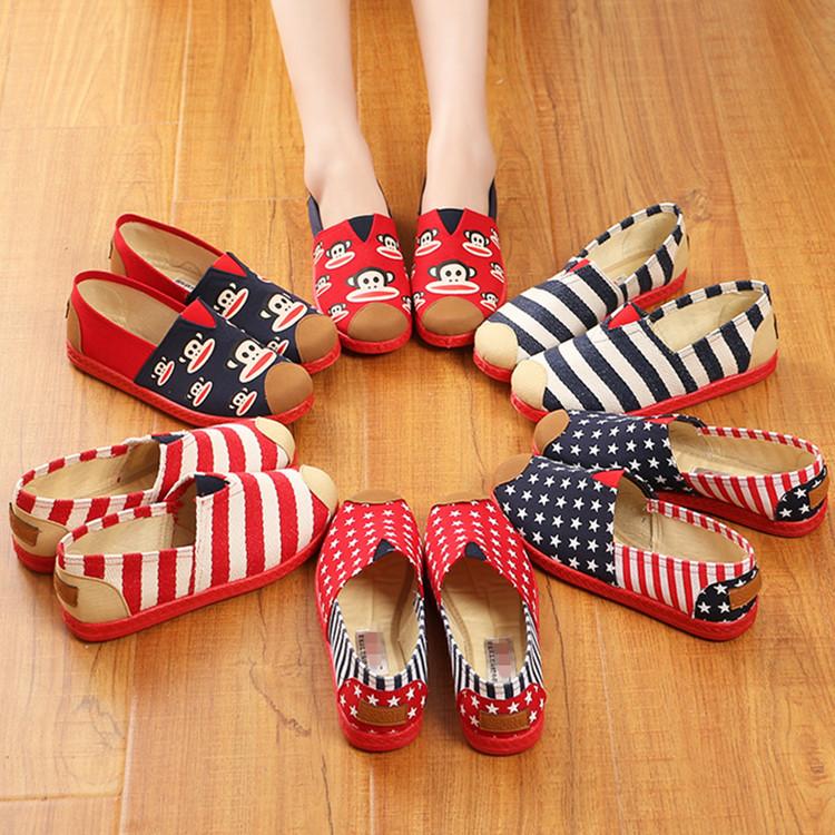 天天特價透氣女工作鞋女單鞋低幫平底休閑老北京布鞋女軟底鞋棉鞋