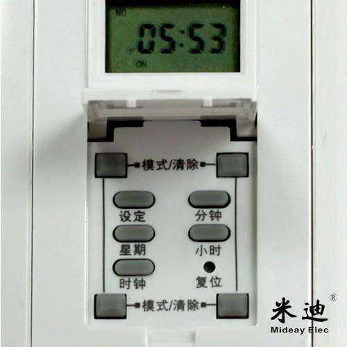 Metros de pared temporizador di 86 panel interruptor interruptor de control de potencia de un Controlador electrónico