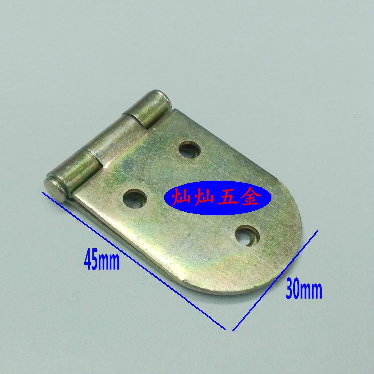 Overturn hinge, small hinge, folding hinge, iron hinge, iron color galvanized table, hinge hinge skin