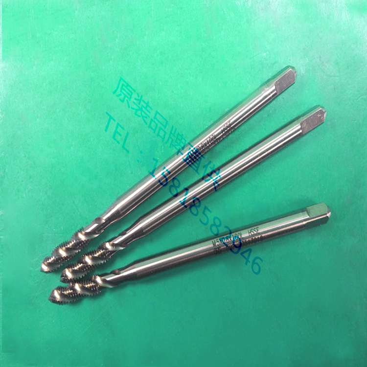 OSG long handle wire tapping 100L150MM imported cobalt deep hole Special Spiral Tap M2X0.4M5X0.8