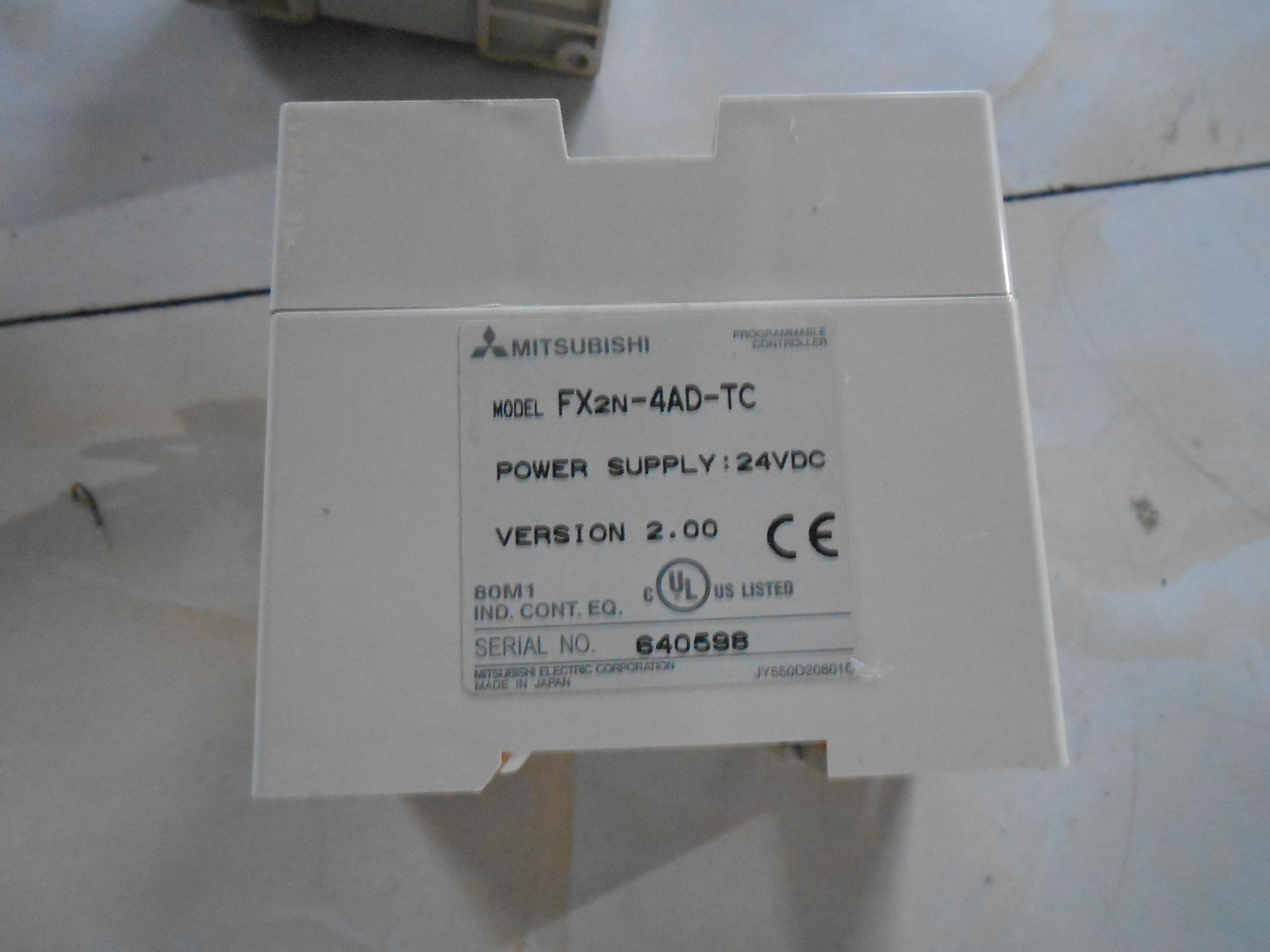 中古GEMAXの代購FX2N-4AD-TC実物図引合三菱PLCモジュール