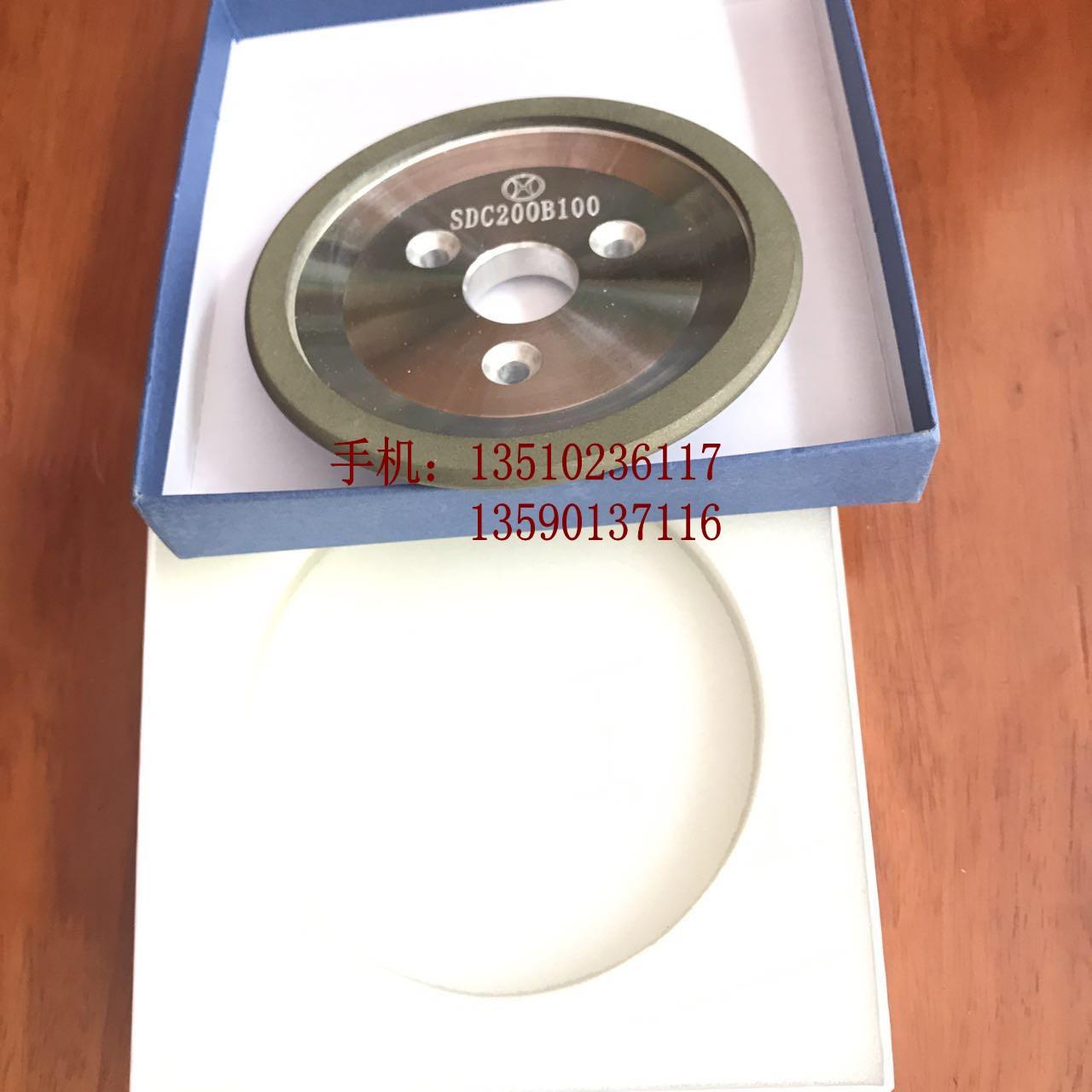El afilador de cuchillos de petroleros de R ángulo rueda disco de diamante tres petroleros