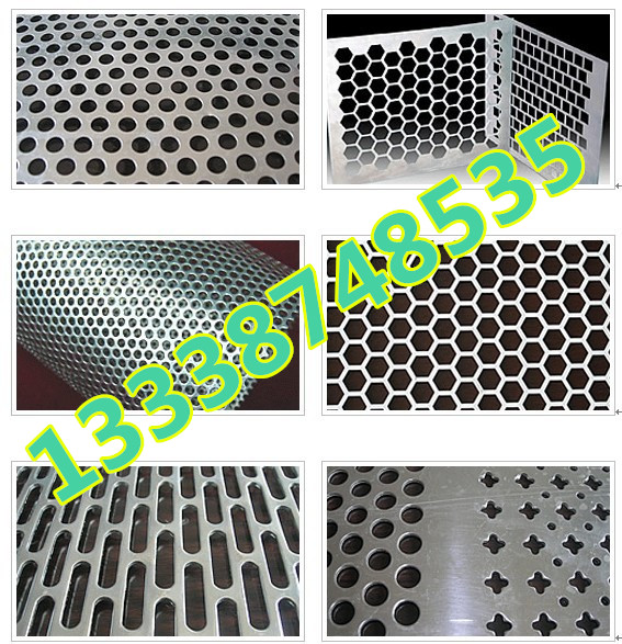 Spot 0.3-20mm hole 304 stainless steel plate net galvanized plate flower hole network radiating plate screen
