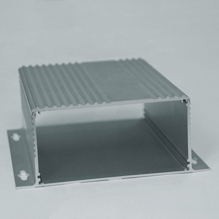 Liga de alumínio shell de alumínio, caixa de alumínio, caixa de caixa de instrumento de poder personalizar a 190*72*155