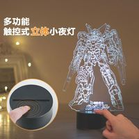 Anime Gundam model fate Strike Freedom Gundam Unicorn Gundam Nightlight gift ornaments