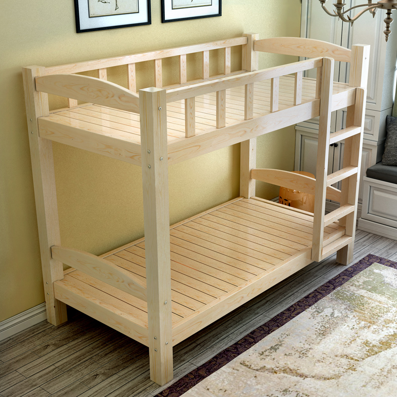 Wood shipping pine bunk high-low bed double bed bed bed mother adult bed dorm bed bed for children