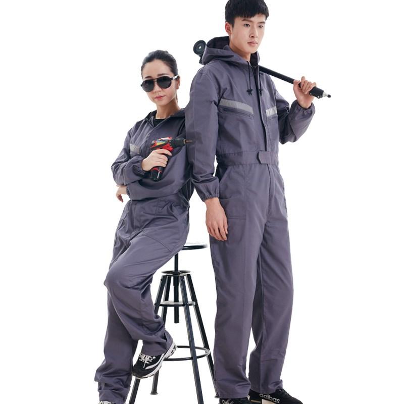 El trabajo integral de la PAC con ropa de manga larga de hombres de trajes y ropa de gran tamaño de reparación de pintura antiincrustante la ropa de protección