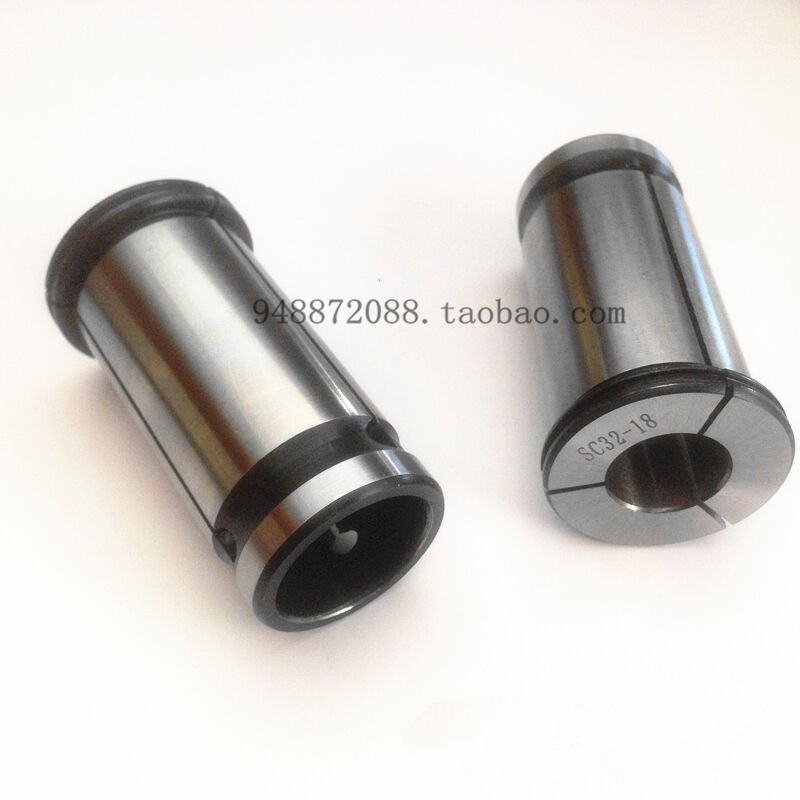 SC20 collet type C strong straight elastic collet C20 shank collet 3-16 jacket straight tube