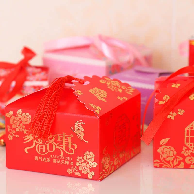 Caixa de doces de Casamento caixa de doces de Casamento criativo estilo de Casamento suprimentos de Casamento por atacado personalizado SACO de doces doces caixa caixa de Papel