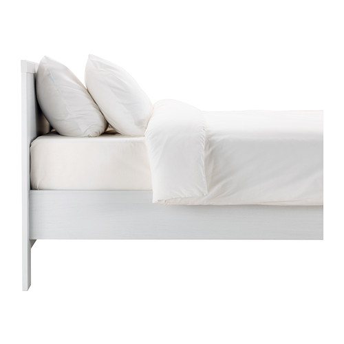Shanghai IKEA Ningbo Blue Sari bed frame with bed board double bed