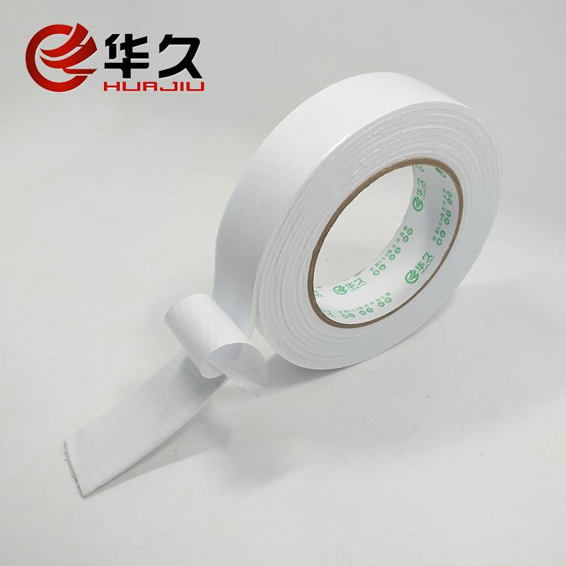υψηλής διπλής όψης κολλητική ταινία Λευκό σφουγγάρι διαφήμιση γραφείου παχύ αφρό διπλής όψης κολλητική ταινία απευθείας πωλήσεις σε 3 μέτρα μήκος