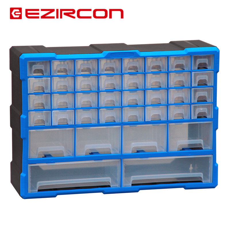 Rui Ken EZIRCON drawer type plastic parts box parts box component box of Lego storage cabinet