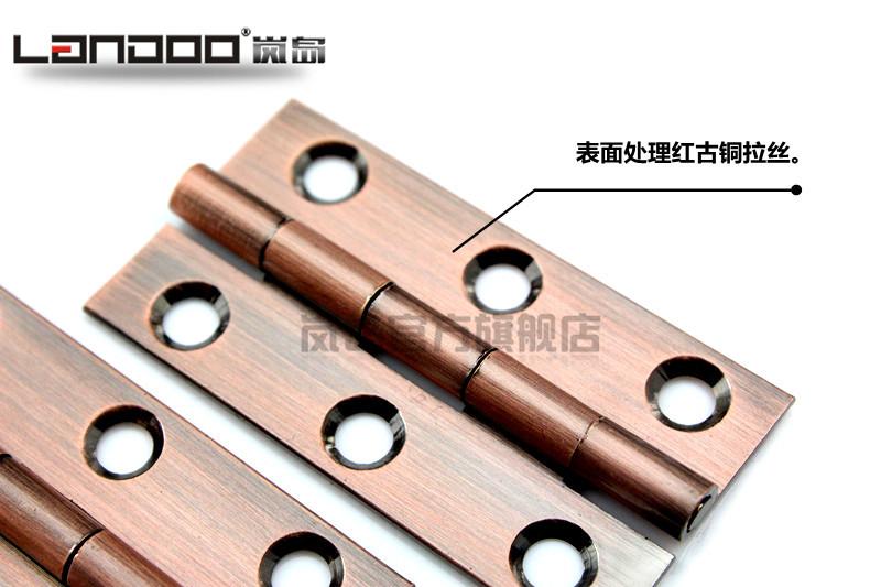 Pure copper, red copper hinge, 2.5 inch copper core, all copper hinge cabinet, pure copper core