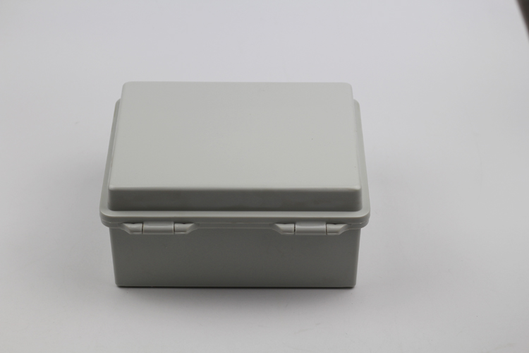 Plastic shell seal box hinge electric waterproof box 220*170*110 industrial control box waterproof junction box flip
