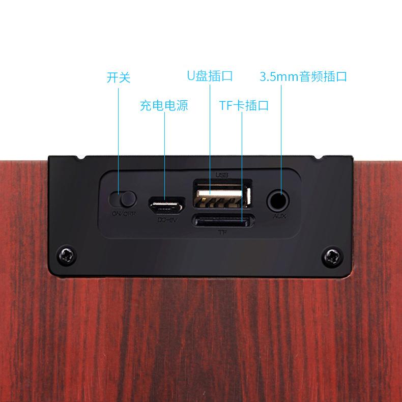 Der neue bluetooth - lautsprecher auch lautsprecher macht Laut 4.0 WLAN zu hause subwoofer
