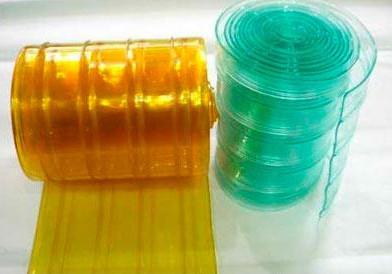 paks nahk pehme eesriide läbipaistev plastikust tehtud kardinad ees kodumajapidamises kasutatava naha naha. talvel tuuleklaasi.