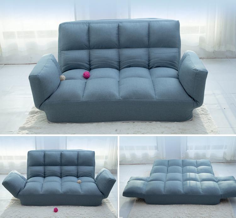 σύγχρονο μινιμαλιστικό πτυσσόμενο καναπέ και μικρό διαμέρισμα ο καναπές κρεβάτι δίκλινο δωμάτιο στο σαλόνι Πολυλειτουργικά