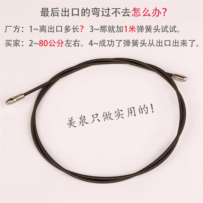 Der elektriker einfädeln artefakt Stahl - Pipeline einfädeln - glasfaser - Kabel tragen stromkabel - drähten