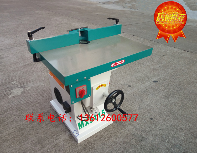 Woodworking machinery edge trimmer Louji acrylic chamfering machine vertical single axis small gongs machine high - speed milling machine