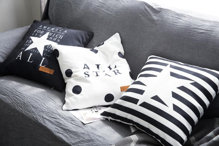 オリジナル抱き枕シンプル現代北欧イケア植物シリーズのクッションソファクッション枕元で腰