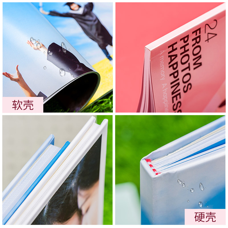 Produzione di album di riviste Timeline album di foto per bambini per bambini album di foto di album personalizzati fai da te