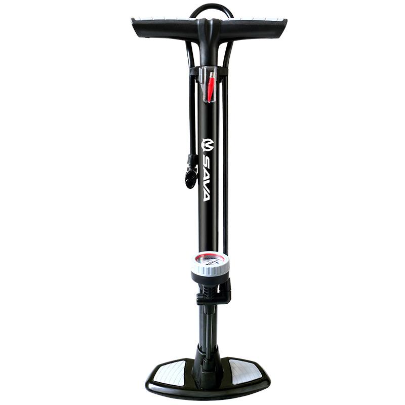 จักรยานสูบน้ำแรงดันสูงในท่ออากาศรถยนต์ไฟฟ้าแบบพกพาบาสเกตบอลฟุตบอลรถจักรยานยนต์
