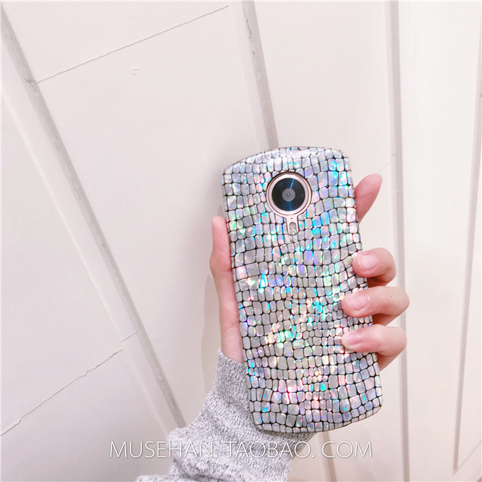 Shining silver color crocodile temperament beauty figure M6/6S mobile phone shell T8/M8/v4 couple T8S protective sleeve M4s