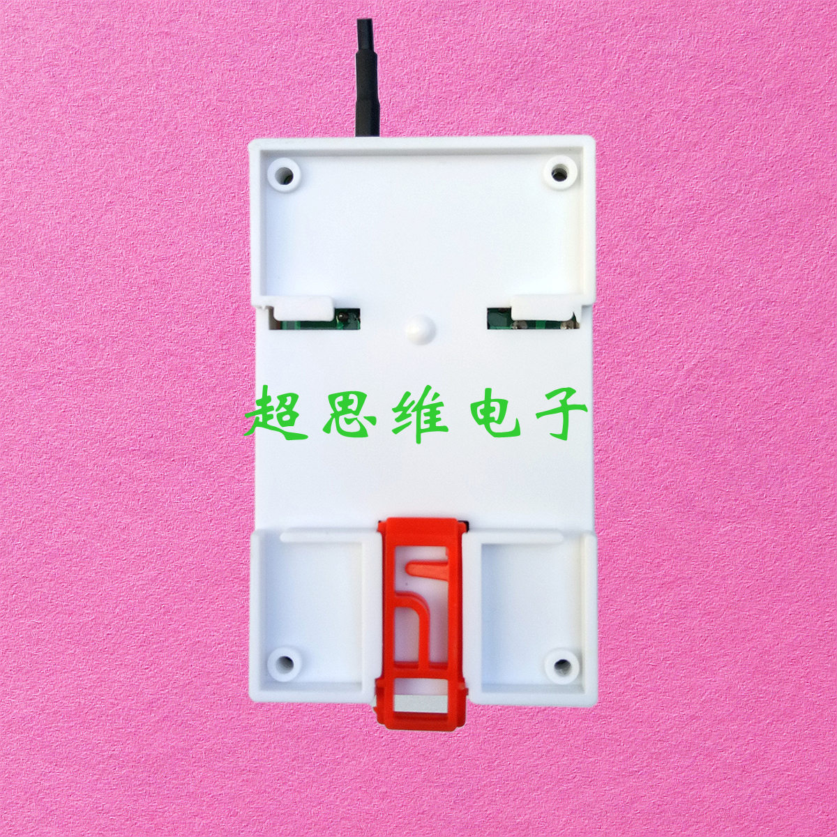 380V remote control switch 2 rail mounting chuck antenna electric cabinet remote start stop mahogany