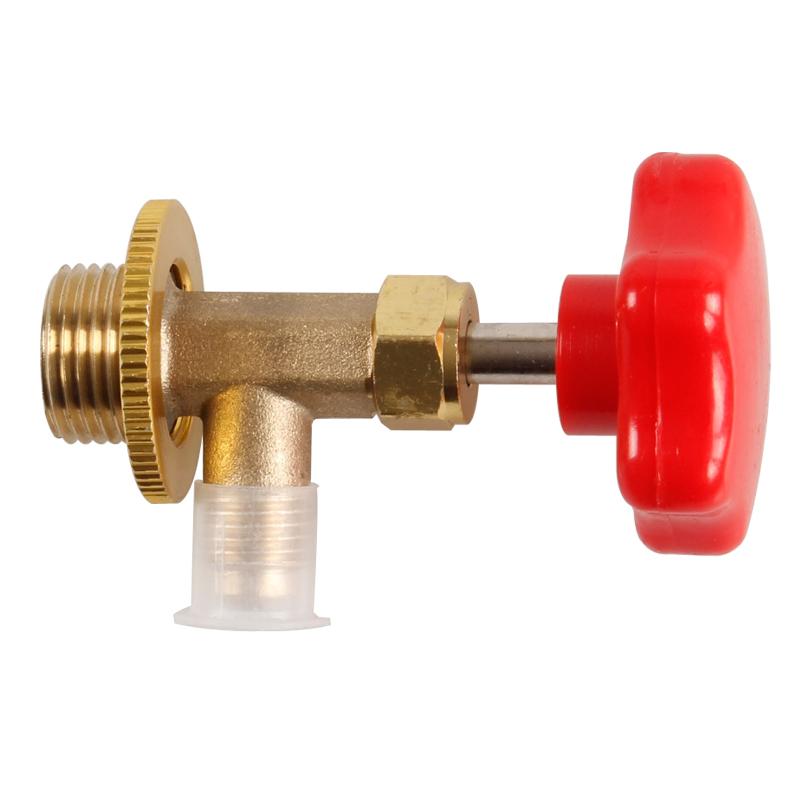 Đồng hồ đo áp lực R12R134a bằng van ba chiều mở van cái mở nút chai tuyết loại công cụ bảo trì máy lạnh.