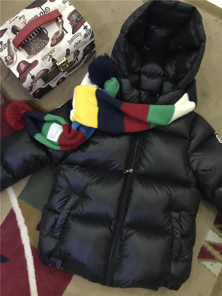 17新款冬装儿童宝宝婴幼儿面包服男童女童亲子超轻白绒加厚羽绒服