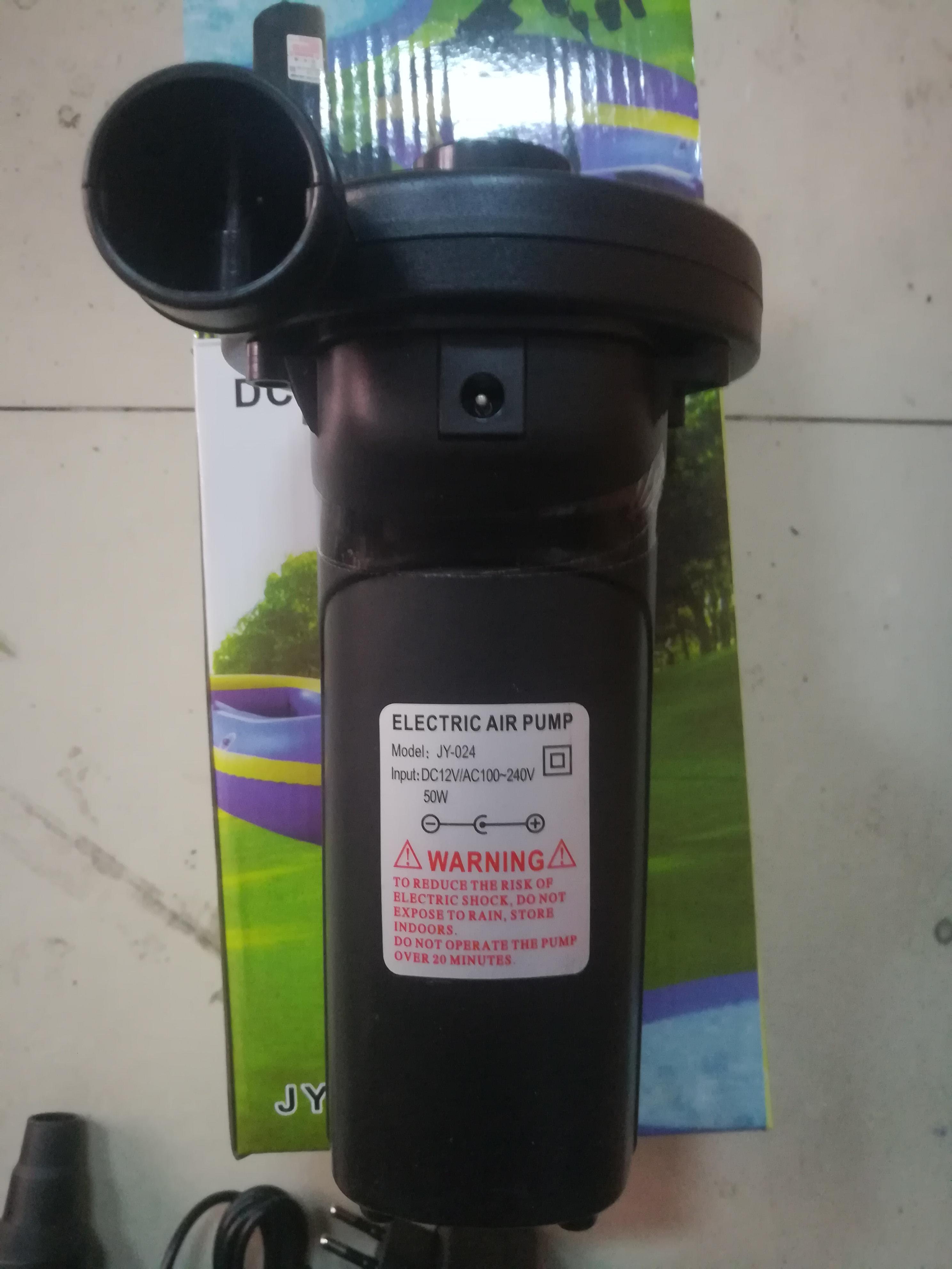 електрическа помпа за съхранение на превозното средство, деца. помпа домакински езеро на въздушна възглавница за мини зареждане на леглото на открито