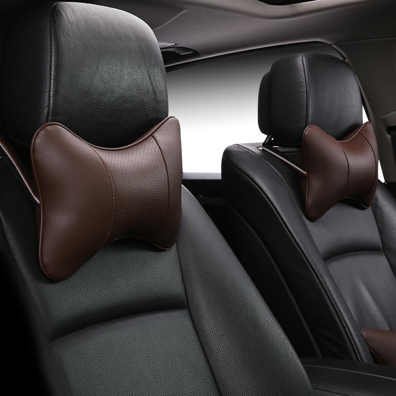自動車を枕に自動車のクッションカー頚枕枕枕護首の骨車用品全皮車枕にだけ