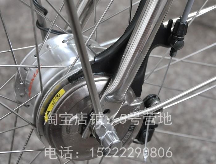 Dormir bien Miyata japonesa Miyata dentro de siete velocidades de 26 pulgadas de acero inoxidable princesa grandes cadenas de bicicleta de generación de caja.