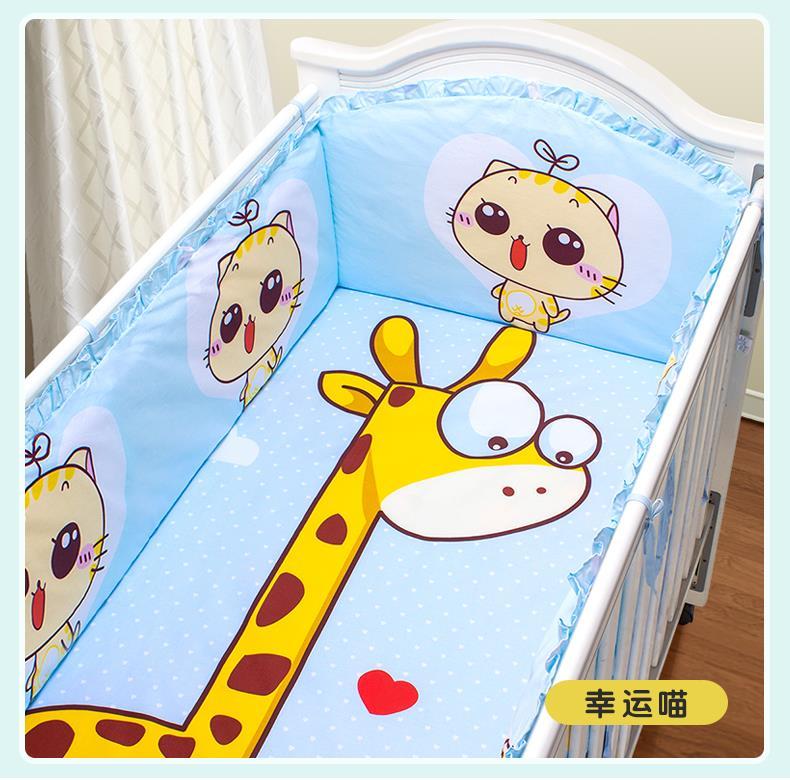 νεογέννητα βρέφη στρωμνής πέντε σουίτα σύγκρουσης κρεβάτι γύρω πάπλωμα στρώμα μαξιλάρι βαμβάκι ββ τέσσερις εποχές γενικά