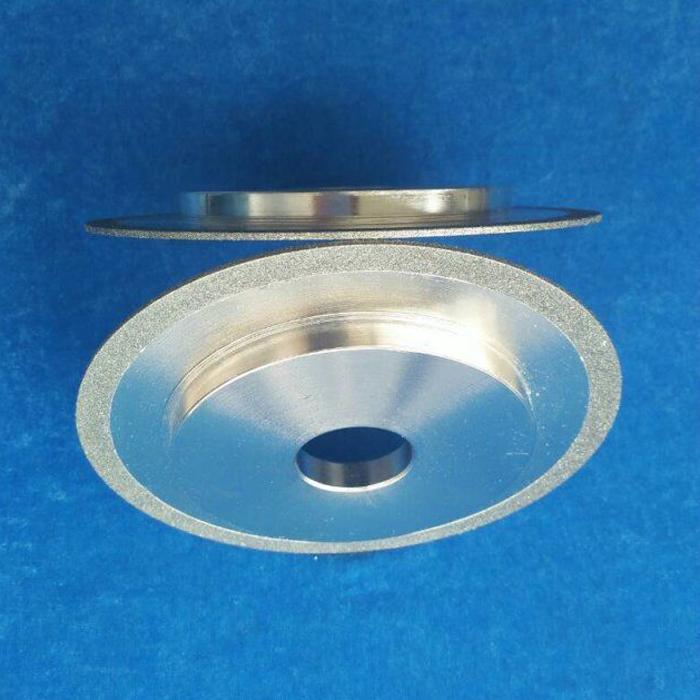 Kemei Abrasives electroplated diamond /CBN grinding wheel cutting blade electroplating roller custom shaped grinding wheel