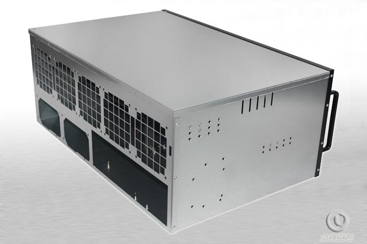 6UK648F ethernet - ETH/ZEC tukea suurten nopeuksien fani - grafiikkakortti teollisuuden - palvelin.