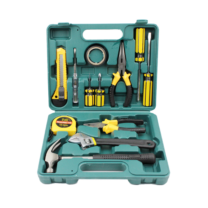 Portable toolbox, toolbox, Maintenance Kit, woodworking tools, home, home car, home decoration hardware kit