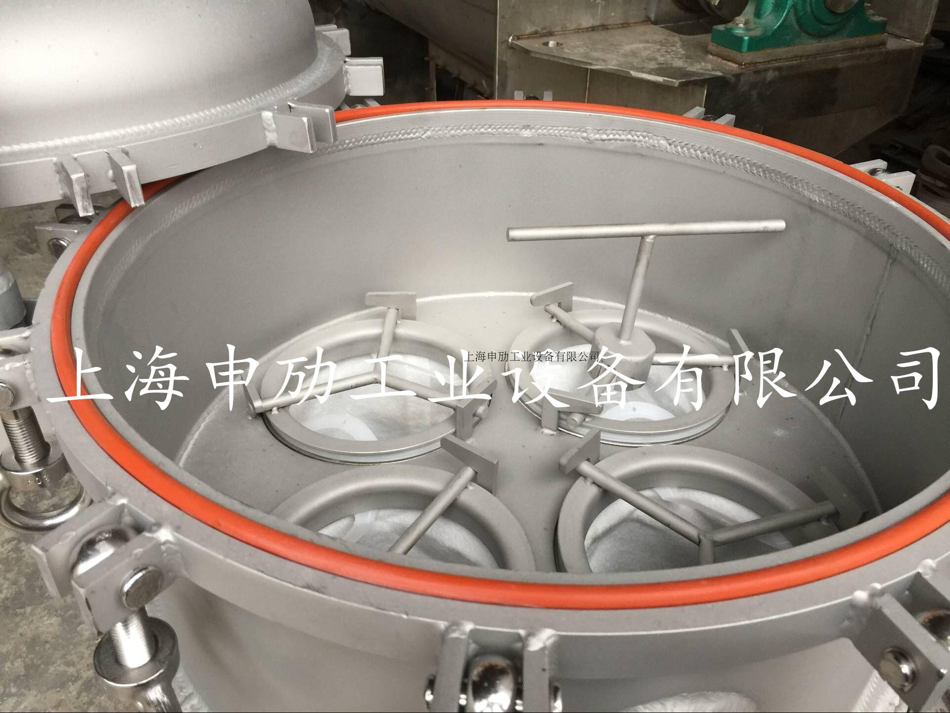 Ring quick opening bag filter, jacketed insulation bag filter, 304 stainless steel bag filter