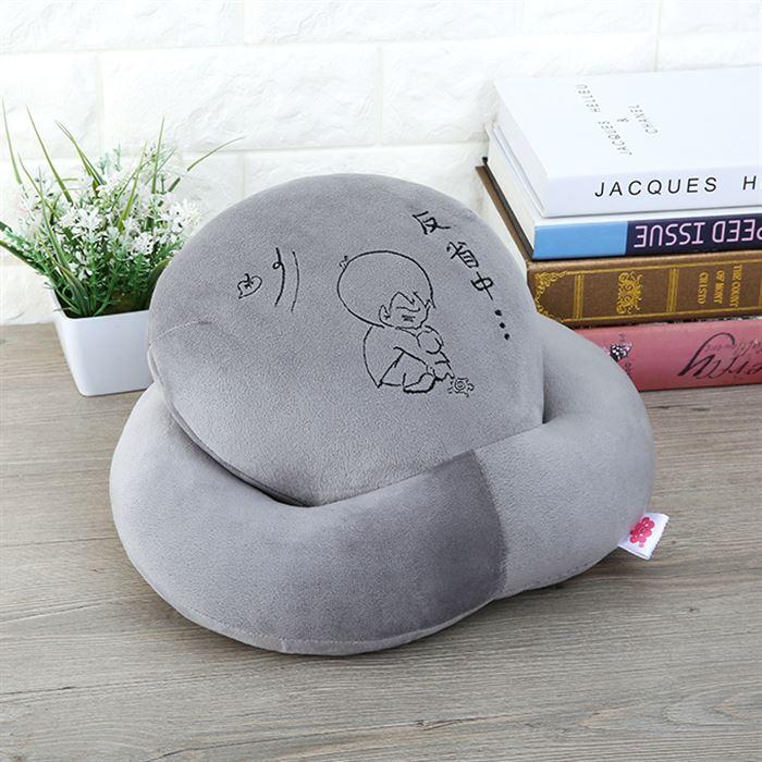 可愛いキャラクターすこし伏せるの枕枕伏せ寝オフィス昼休み学生枕抱き枕旅行昼寝神器腰靠垫