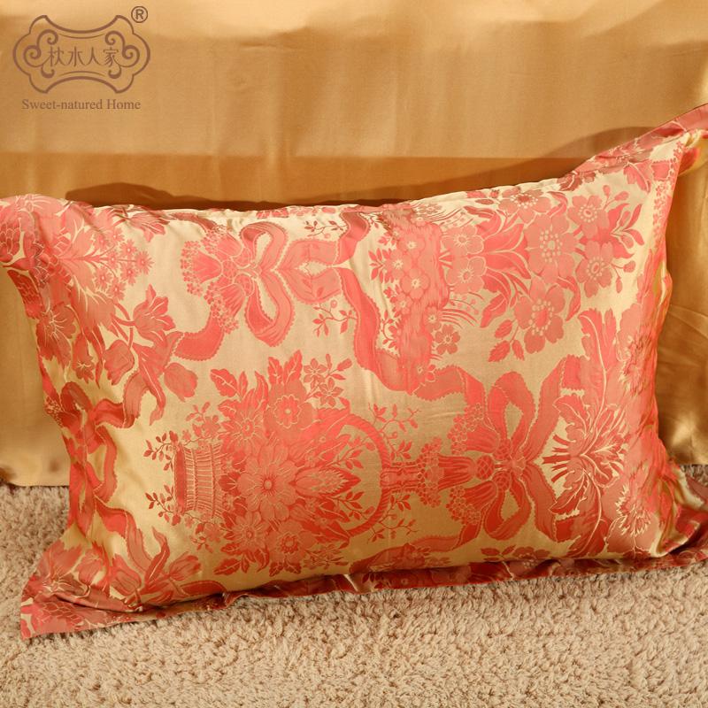 IL cuscino di SETA di Acqua doppio letto, altri prodotti una serie di Quattro Pezzi di lenzuola di Seta, l'autunno e l'inverno Suite autentico Chili di SETA