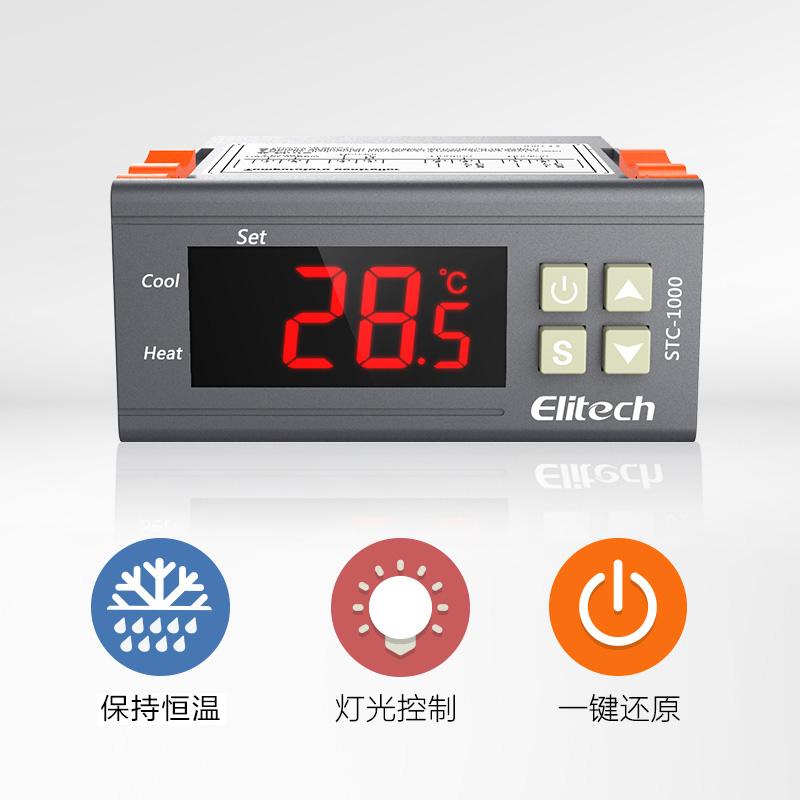termostat stc-1000 aqua se 微电脑 regulátorem teploty mořské plody na elektronické 数显 vypínač.