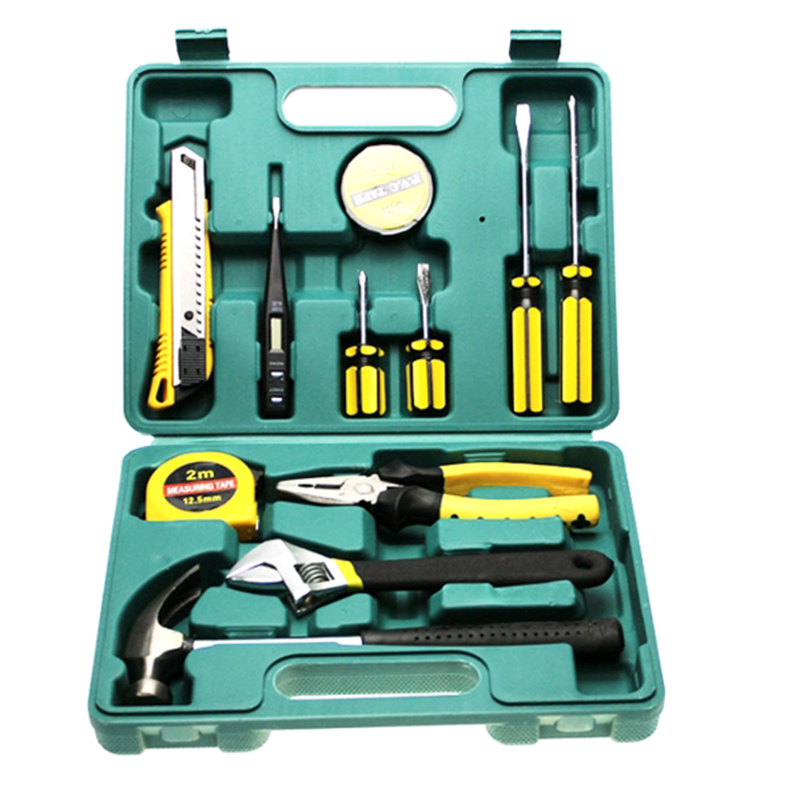 Car repair kit, car trouble emergency rescue box, home hardware suite, vehicle maintenance, car eight pieces
