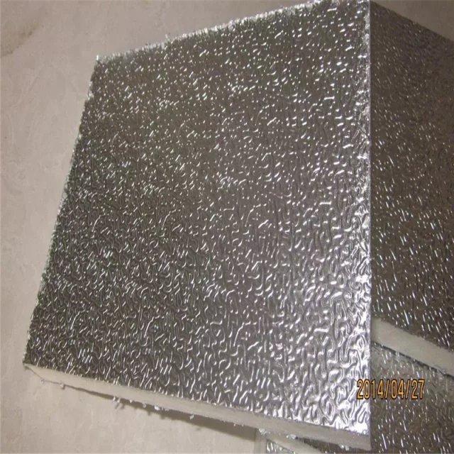 alumiiniumfoolium, kombineeritud kanaliga kliimaseadmed, hoida pardal koos kahe 20 mm vahu - soe juhatuse ventilatsiooni.