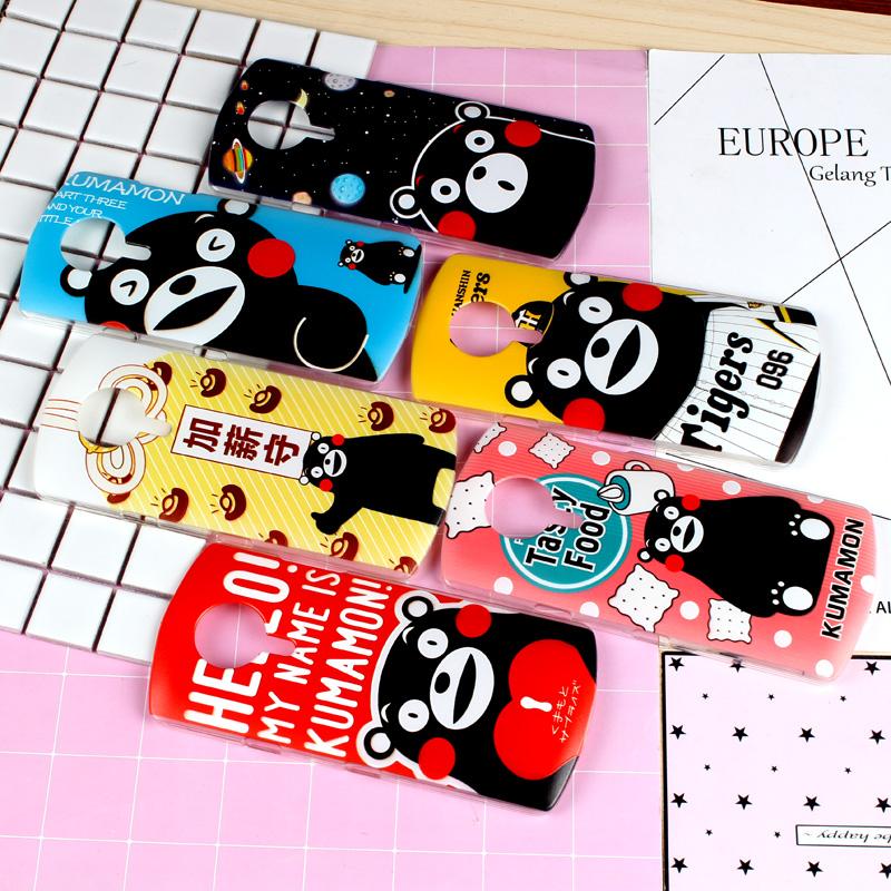 Korean cute cartoon beauties T8 mobile phone shell M6 thin shell M4S matte female M4 Brown bear M6 Minnie rabbit