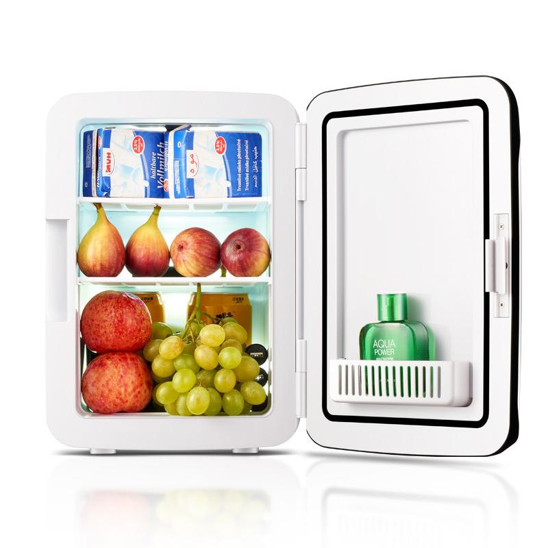 Los estudiantes de Kemin 10l mini nevera pequeña domésticos de refrigeración a bordo de la nevera el coche dormitorio doble propósito